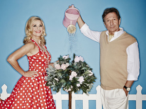 Michael Brandon and Glynis Barber in 'Stepping Out'
