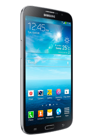 The Samsung Galaxy Mega smartphone