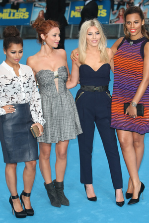 The Saturdays, We're The Millers premiere, UK