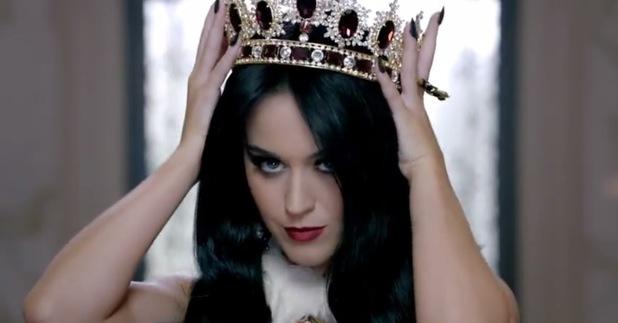 Katy Perry Killer Queen video still.