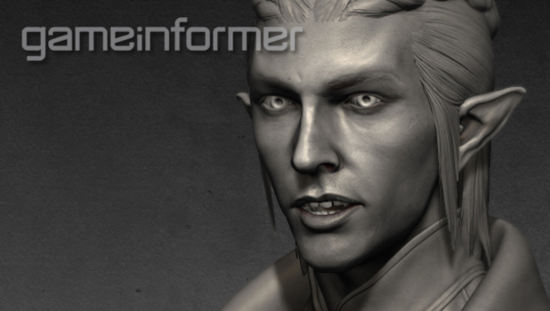 'Dragon Age 3: Inquisition' race model