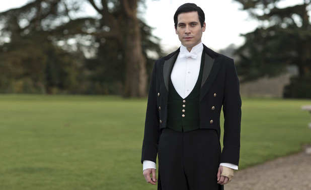 Rob James-Collier as Thomas in 'Downton Abbey'