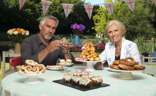Great British Bake Off judges Paul Hollywood & Mary Berry