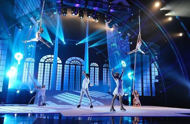 'America's Got Talent' Top 12 performances: Aerial Ice