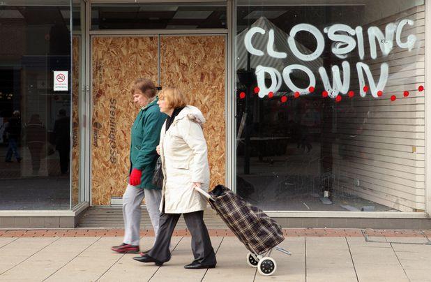 A closed down shop, Hemel Hempstead