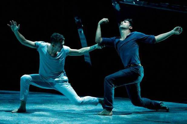 "Tucker Knox and all-star dancer Robert Roldan perform a Contemporary routine to ""Medicine"" choreographed by Travis Wall"