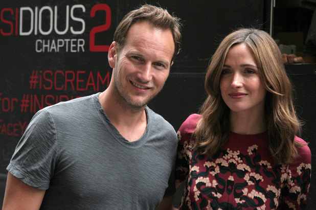 Patrick Wilson and Rose Byrne