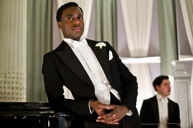 Gary Carr as Jack Ross in 'Downton Abbey'