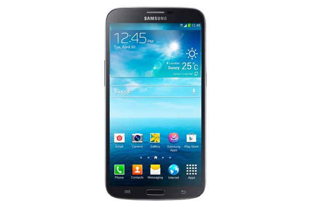 The Samsung Galaxy Mega smartphone