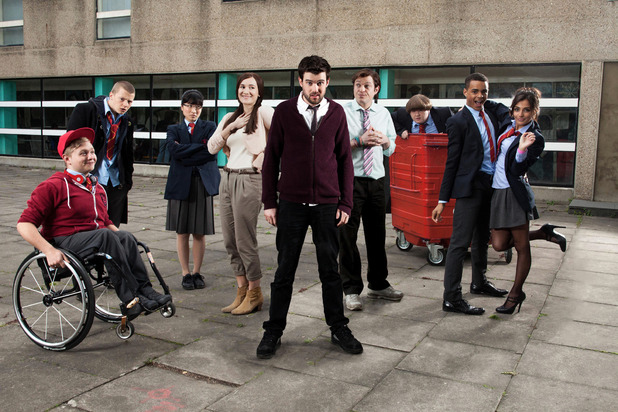 The cast of 'Bad Education'