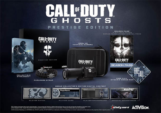 'Call of Duty: Ghosts' Prestige Edition