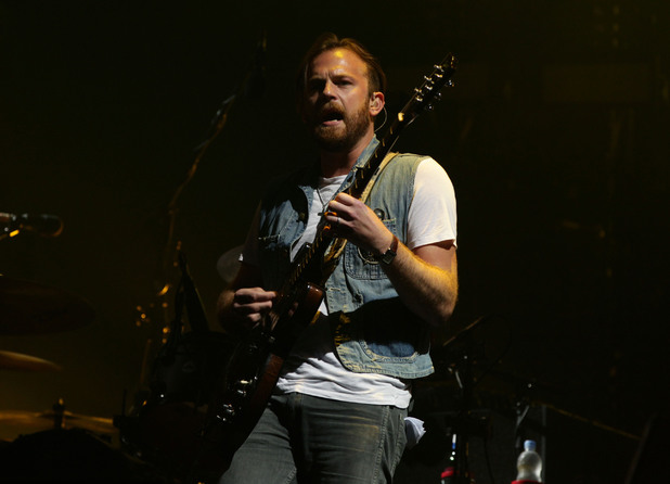 Kings of Leon's Caleb Followill at V Festival 2013
