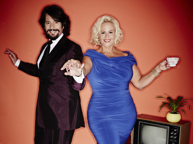 Lawrence and Jackie Llewelyn Bowen in 'Stepping Out'