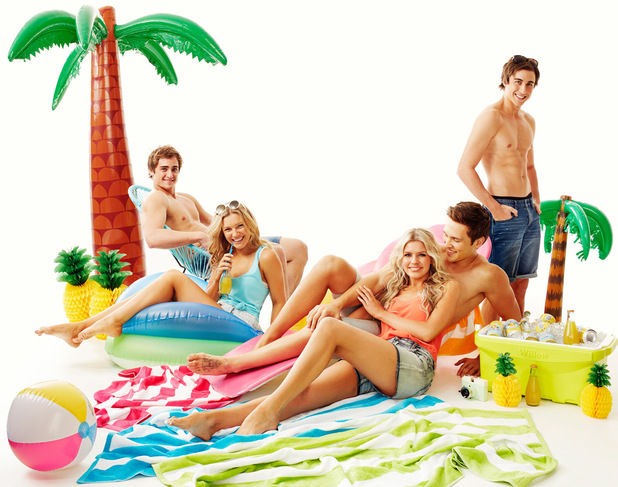Neighbours: Beach photoshoot