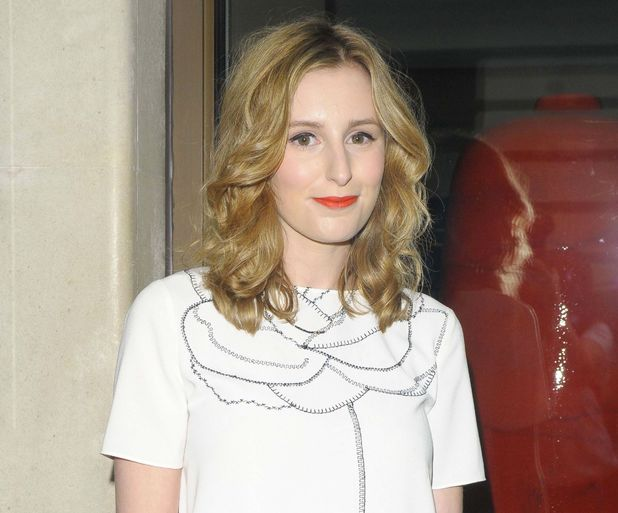 Laura Carmichael at show launch in London