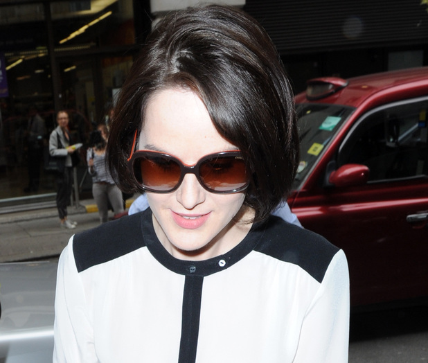 Michelle Dockery at show launch in London