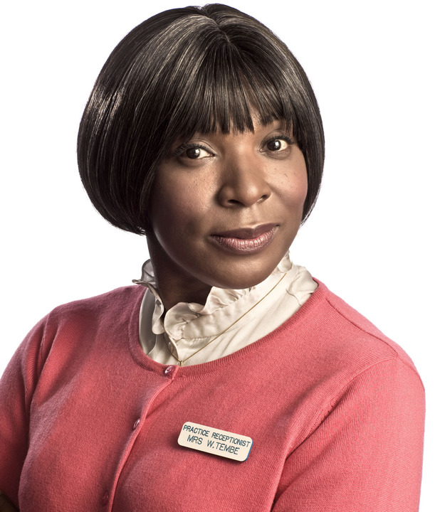Lorna Laidlaw as Mrs Tembe in Doctors