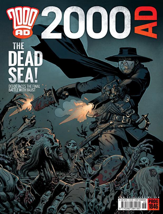 '2000 AD' Prog 1846 cover