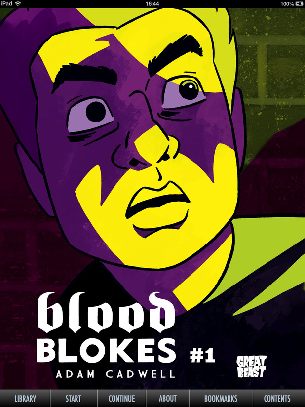Adam Cadwell's 'Blood Blokes'