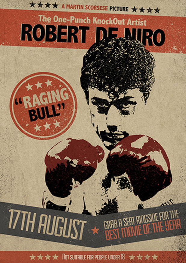 'Raging Bull' Poster
