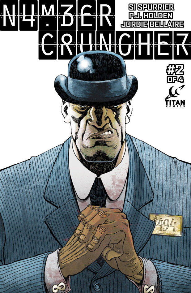 'Numbercruncher' #2 cover