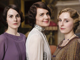 Michelle Dockery as Lady Mary, Elizabeth McGovern as Lady Cora & Laura Carmichael as Lady Edith in 'Downton Abbey'