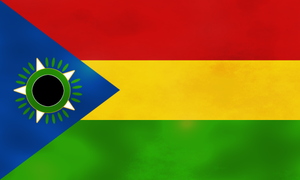 Tropico 5: The flag of the fictitious country Tropico