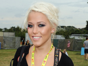 V Festival, Chelmsford, Essex, Britain - 17 Aug 2013 Amelia Lily Oliver in the Virgin Media Louder Lounge