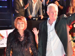 Bruce Jones and Vicky Entwistle