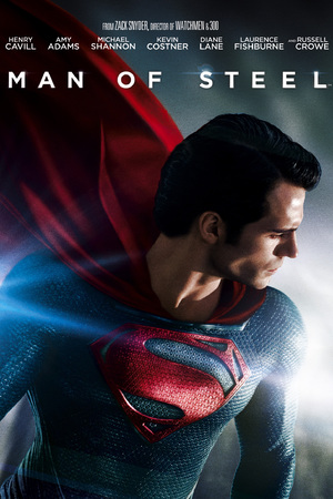 Man of Steel DVD cover