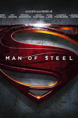 Man of Steel steelbook cover
