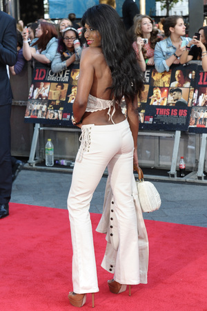 'One Direction: This Is Us' film premiere, London, Britain - 20 Aug 2013 Sinitta 20 Aug 2013