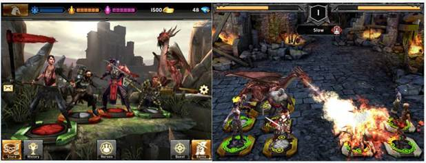 Dragon Age game for mobile phones