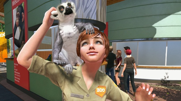 Zoo Tycoon Screen Shot