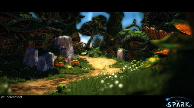 Project Spark screen shot