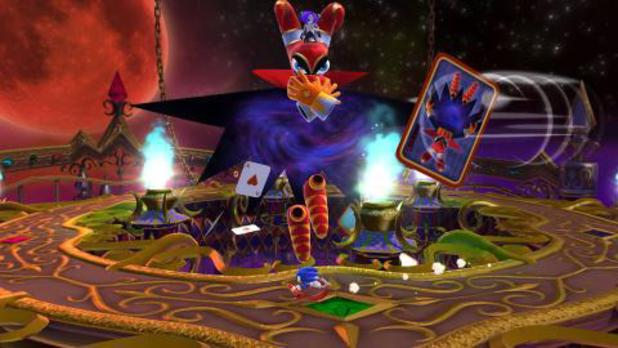 'Sonic Lost World: Deadly Six Edition' screenshot