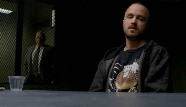Hank and Jessie in 'Breaking Bad' episode 'Buried'