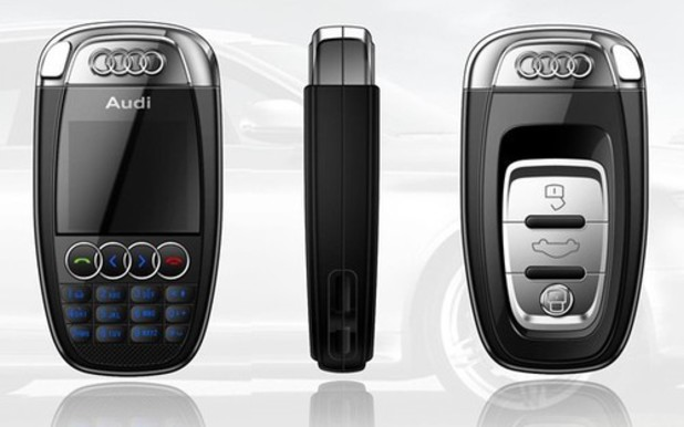 Car key phone