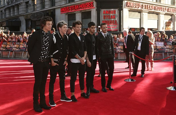 One Direction at the This Is Us premiere