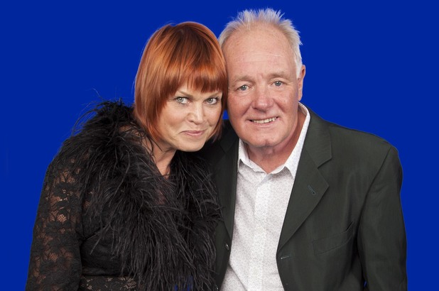 Celebrity Big Brother 2013: Vicky Entwistle and Bruce Jones