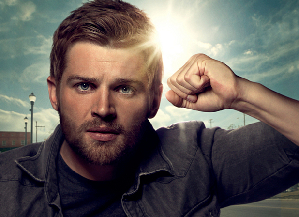 "Mike Vogel as Dale ""Barbie"" Barbara in 'Under The Dome'"