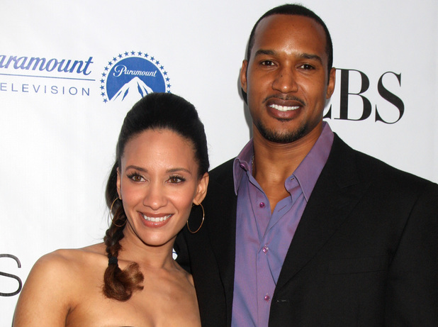 Sophina Brown and Henry Simmons
