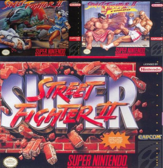 'Street Fighter 2' on Super Nintendo