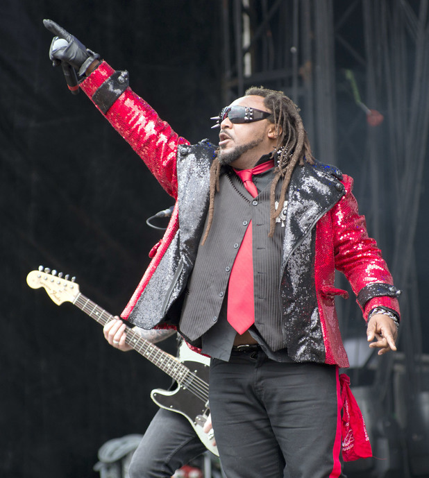 Skindred hits Bramham Park on day 2 of the Leeds festival.