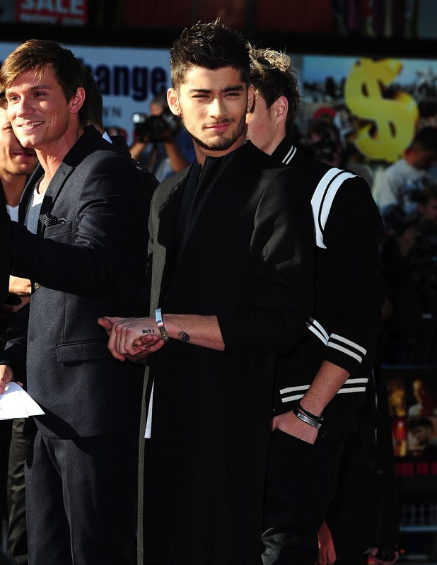 Zayn Malik at the This Is Us Premiere