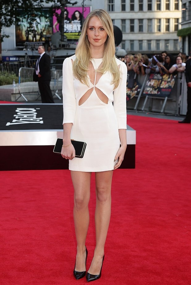Diana Vickers at the This Is Us premiere