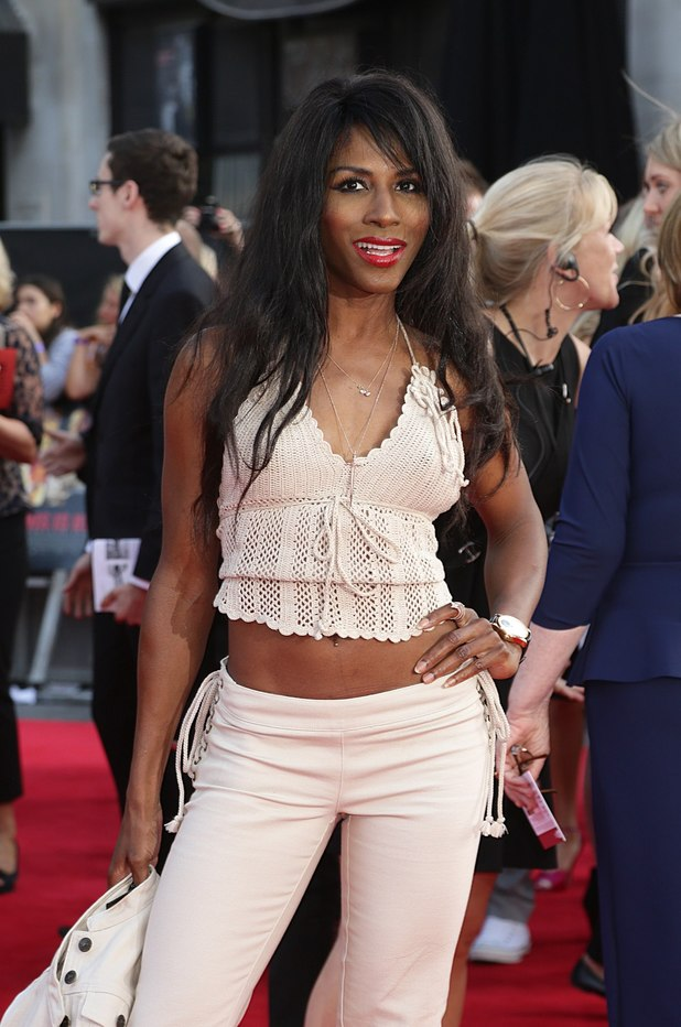 Sinitta at the This Is Us premiere