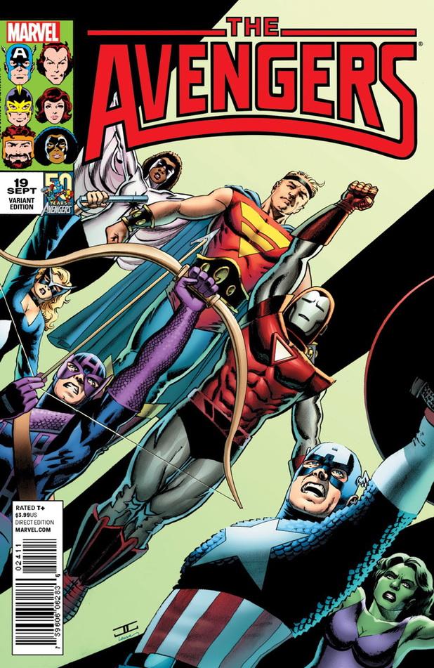 'Avengers' #19 variant cover