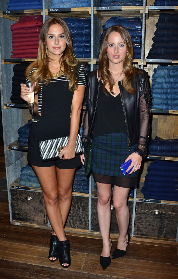 Lucy Watson and Rosie Fortiscue