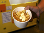 Vending machine cooks chips with beef fat